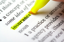 Insurance – We can provide many solutions.