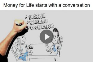money for life starts with a conversation